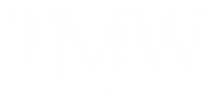 TMW Productions White Logo