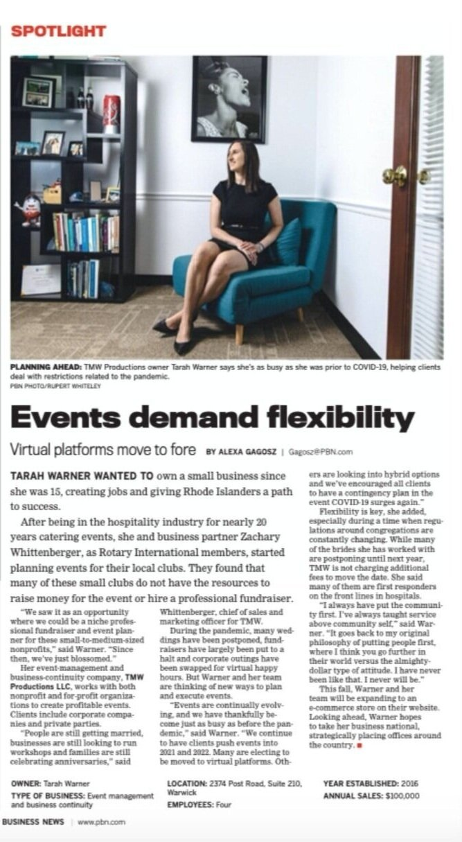 Events Demand Flexibility